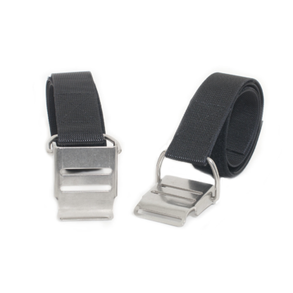 Tank bands, stainless steel, pair