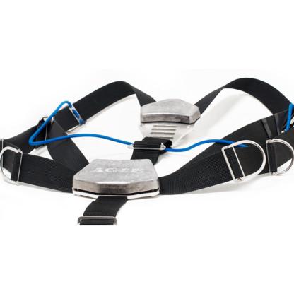 Sidemount lumbar and dorsal weights